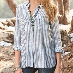 Sundance Louden Striped Shirt size XS